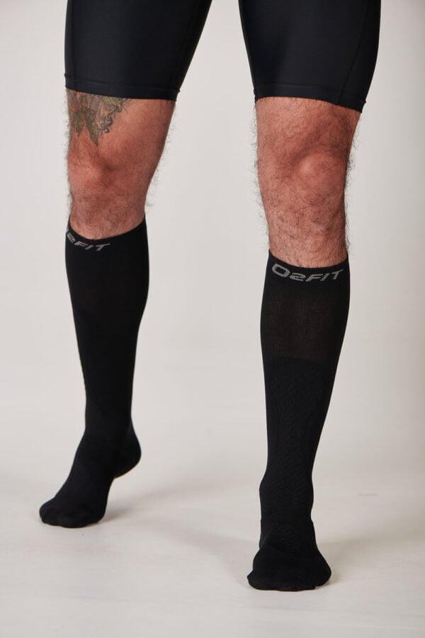 Unisex Calf Recovery Socks – Black $29.99 (1)