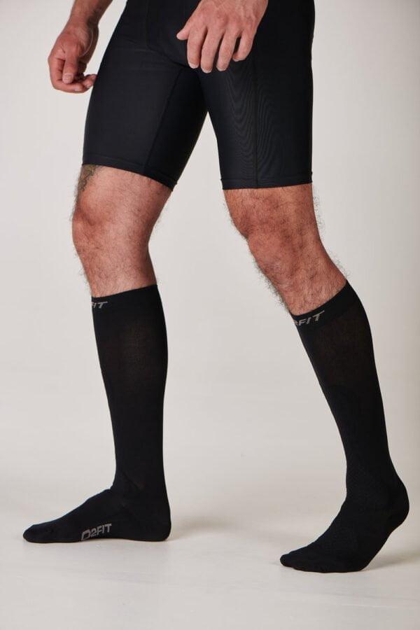 Unisex Calf Recovery Socks – Black $29.99